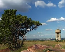 Timelapse Clouds on Northcliff Hill Joburg, GFTSD - stock footage