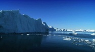 Ice Cliffs Affected by Climate Change Stock Footage