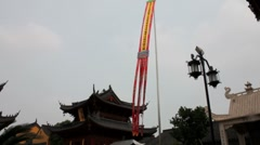 Traditional Chinese Temple Stock Footage