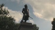 Stock Video Footage of Stock Footage - Lafayette Square - Washington DC - Staue
