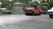 Stock Video Footage of Work On Laying Asphalt Timelapse 3