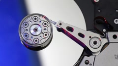 Computer hard drive Stock Footage