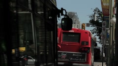Ottawa Traffic with O.C Transpo Busses Stock Footage