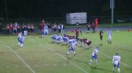 Stock Video Footage of Quarterback Touchdown Pass 02