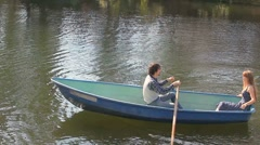 A pair of boat Stock Footage