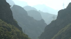 Mountains. Bosnia - stock footage