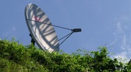 Stock Video Footage of Communication Dish 2