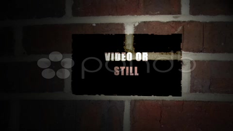 After Effects Project - Pond5 Brick wall photo video show 8664593
