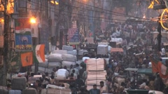Delhi-Chandni Chowk Stock Footage