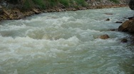 Uncompaghre River, ouray, Colorado - 3 Stock Footage