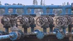 Bar pressure meter - stock footage
