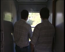 Men in Tambour Stock Footage