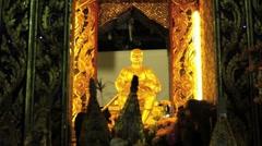 Thai Shrine Stock Footage