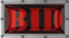 bid on led - stock footage