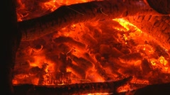 Embers and Flames 2 stick fall PRLT Stock Footage