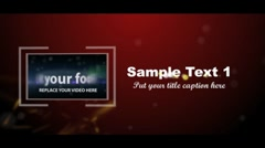 zoom text with footage in 3d space.zip - stock after effects