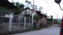 Honduras Drive By - stock footage