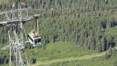 Alyeska Aerial Tram (HD) c - stock footage