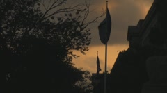 Stock Footage - U.S. Department of Justice Flags - Slow Stock Footage