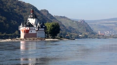Upper Middle Rhine Valley, Germany Stock Footage
