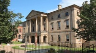 Province house. Charlottetown. Stock Footage