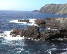 Coast of Shetland Islands Scotland Stock Footage