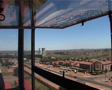 View of Soweto from the Chris Hani Baragwanath Hospital, GFSD Stock Footage