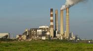 TECO Big Bend Power Plant-Apollo Beach, Fl Stock Footage