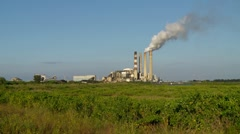 TECO Big Bend Power Plant-Apollo Beach, Fl Stock Footage