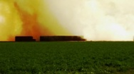 Stock Video Footage of Burning Farm Fields- Imperial Valley, CA 6