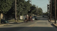 Stock Footage - Horse and buggy - Downtown Gettysburg, PA Stock Footage