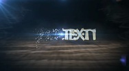 Stock After Effects of diamond text intro HD