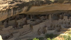 Mesa Verde Cliff Palace - stock footage