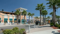 Pier Park area in Panama City Beach - stock footage