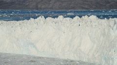 Arctic Glacier Affected by Global Warming  Stock Footage