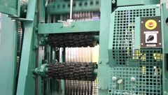 Sawmill equipment Stock Footage