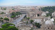 Stock Video Footage of Coliseum in Rome