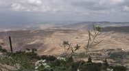 Stock Video Footage of panorama Promised land, Israel