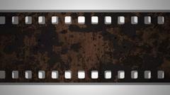 Film Reel Loop Stock Footage