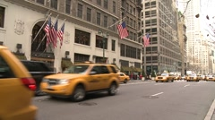 New York City Traffic Stock Footage