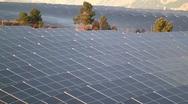 3. Solar Power Panels Stock Footage