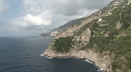 View of Amalfi Stock Footage
