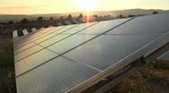 9. Solar Power Panels Stock Footage