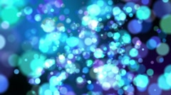 Defocus Abstract Background - Cold Colors Stock Footage