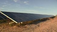 16. Solar Power Panels Stock Footage