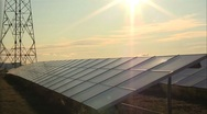 21. Solar Power Panels Stock Footage