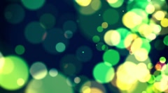 Defocus Abstract Background - Green - stock footage