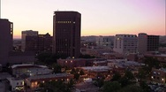 Stock Video Footage of Boise Downtown timelapse 59.94 7