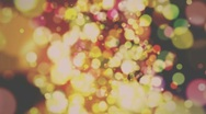 Stock Video Footage of Defocus Abstract Background - Warm Rerto Colors