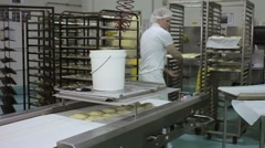 Pastry machine. Stock Footage